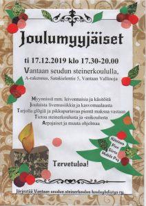 joulumyyjäiset 17.12.